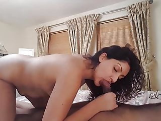 NRI Desi Girl Deepthroat Blowjob