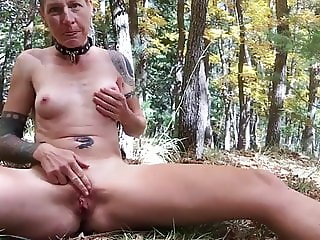Orgasmus in the wood part 2