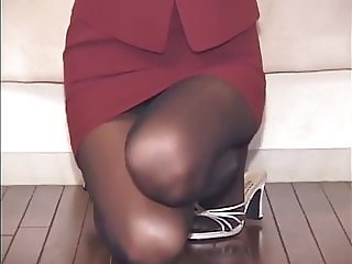 Long Legs and pantyhose