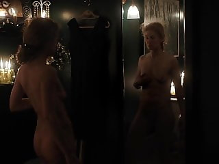 Rosamund Pike - A Private War Nude Full Frontal 2018 1080p