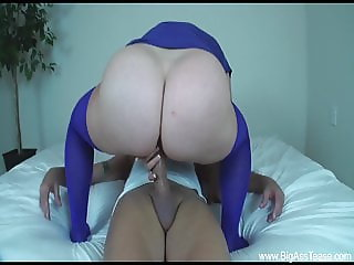 huge ass dropped directly on cock