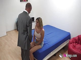 Police! Vivi fucked by a guy posing as a policeman