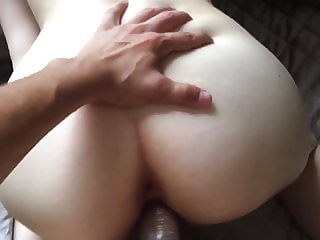 JUICY CONDOM HOMEFUCK WITH SPIT ON ASS (TEASER)
