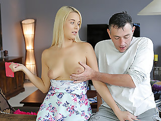 DADDY4K. Horny old man catches the right moment to seduce...