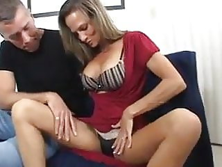 Gorgeous Milf fucked by 2