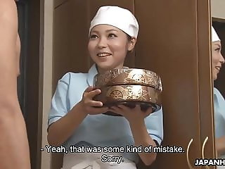 Japanese delivery girl, Lulu Kinouchi got nailed for mistake