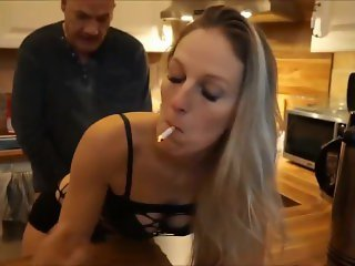 Kitchen smoke & sex