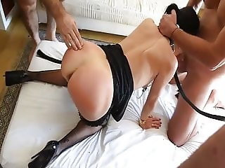 a women fucked by men