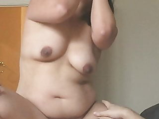 Asian Full Frontal Nude Big Brown Nipples BBW Chubby
