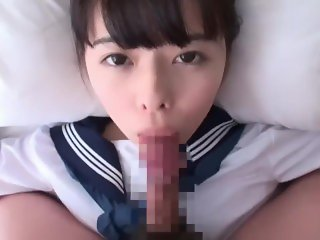 POV Blowjob - Yuna Ogawa [Eye Contact, Tongue out]
