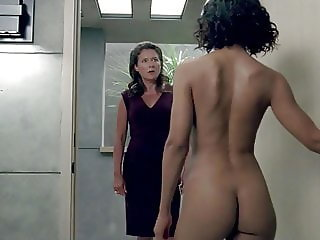 Tessa Thompson Nude Ass in Westworld On ScandalPlanet.Com