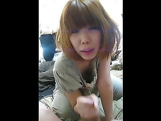japanese amateur noizy blowjob