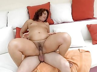 Red Mary banged by a horny dude