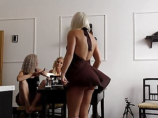 Flying Skirt Serenade, minutes of no panties upskirts - 4K