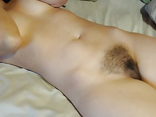 My sexy wife waking up naked for the camera