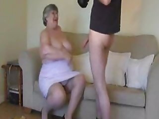 CameraMan did not resist Grandma