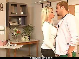 MILF Brooke Haven Flirts And Fucks The School Nurse