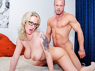 LETSDOEIT - Cougar Aunt Fucks Her Virgin Step-Nephew