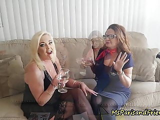 Aunt Paris Seduces Her Sister & Nephew