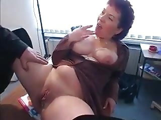 Horny Redhead gets fucked with a lil tiny dick