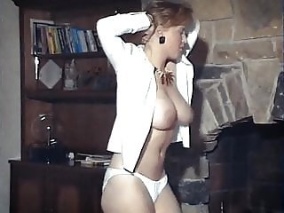 Strip Down Ginger - big bouncy British boobs dancer