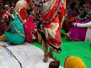 Desi Rustic marriage song & dance
