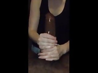 Wife make him cum hard #4