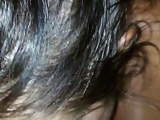 Wife chokes bad on cumshot to the throat