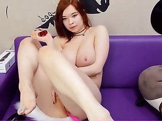 AkiraJoy - Busty Redhead Latvian Webcam Girl - 1