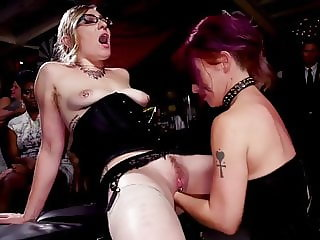 Lesbian Fisting on a Hardcore BDSM Party