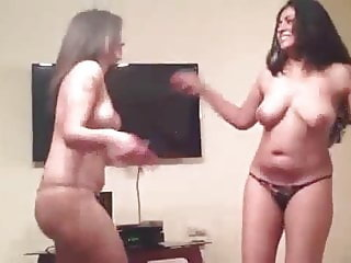 slut mona farough and her friend dance for khaled yousef