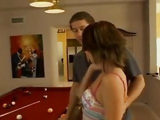 Double penetration on the billiard table