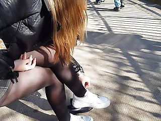 pantyhose girl