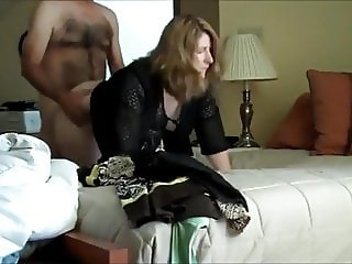 naughty amateur mom fucks her boss for promotion