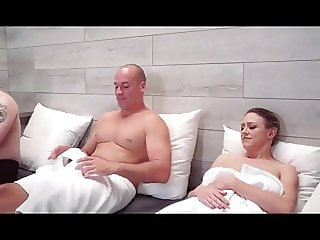 Dirty hairy milf whore gets cum in mouth fully tanked