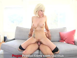 Pegas Productions - Savana Styles' Big Butt Banged by the Gardener
