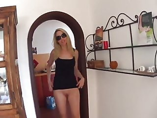Horny Wife Gets Filled Up With Cum While Husband On Vacation