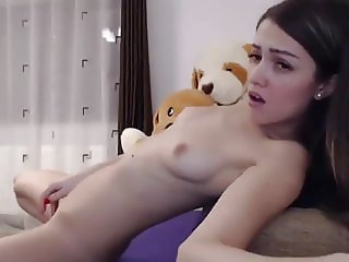 Young tiny body cute small tits