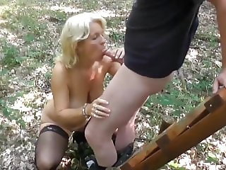 Cheating Mature MILF with BIg Tits Fucked By Stranger