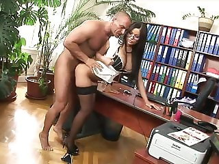Horny teacher fucks her student