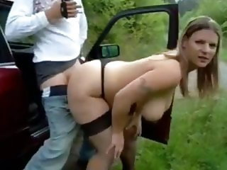 Hot Divorced MILF Big Natural Tits Random Sex with Stranger