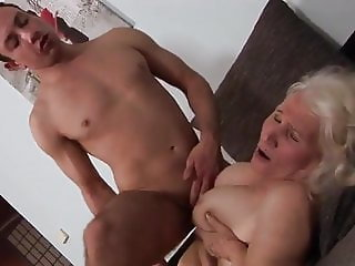 Horny Granny with young Boy