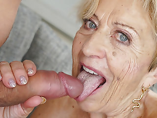 70+ mature lady still loves big dicks