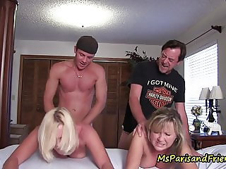 The TABOO Family Fucks a Friend with Ms Paris Rose