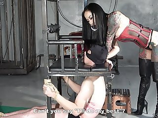 Japanese Dominatrix Youko Punishment Whipping