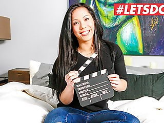 LETSDOEIT - ASIAN Teen Suky FIRST AUDITION For Porn