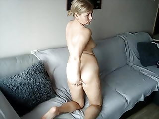 Blonde feeling horny