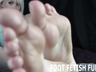 I know how much you love my feet