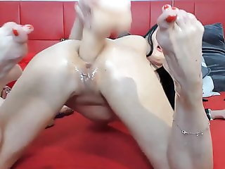 Russian Hottie With Her Solo Hardcore Masturbation