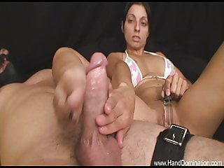 feet and hands dominate dick